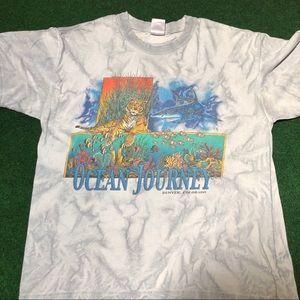 Vintage Tie Dye Ocean Journey Denver T-shirt